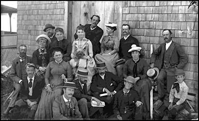 Gallison and Artist Friends at Annisquam, 1888