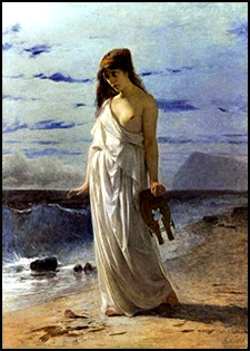 Sappho, a painting by Andrea Gastaldi
